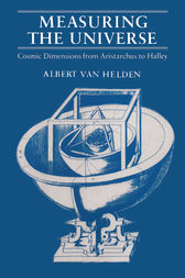 Measuring the Universe by Albert Van Helden