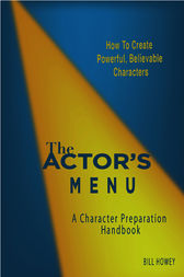 The Actor's Menu by Bill Howey