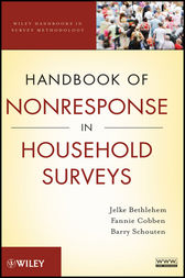 Handbook of Nonresponse in Household Surveys by Jelke Bethlehem