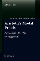Aristotle's Modal Proofs by Adriane Rini