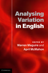 Analysing Variation in English by Warren Maguire