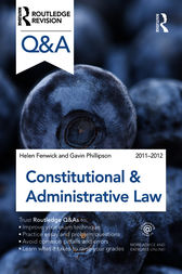 Q&A Constitutional & Administrative Law 2011-2012 by Helen Fenwick