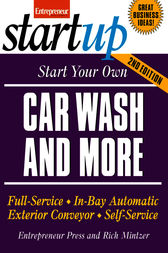 Start Your Own Car Wash and More by Entrepreneur Press