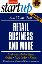 Start Your Own Retail Business and More by Entrepreneur Press