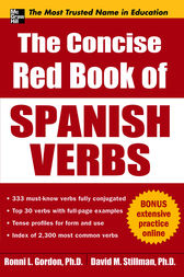 The Concise Red Book of Spanish Verbs by Ronni Gordon
