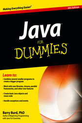 Java For Dummies by Burd