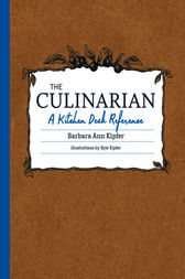 The Culinarian by Barbara Ann Kipfer