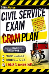 CliffsNotes Civil Service Exam Cram Plan by Inc. Northeast Editing