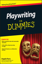 Playwriting For Dummies by Angelo Parra