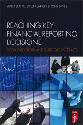 Reaching Key Financial Reporting Decisions by Stella Fearnley