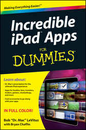 Incredible iPad Apps For Dummies by Bob LeVitus