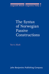 The Syntax of Norwegian Passive Constructions by Tor A. Åfarlí
