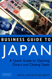 Business Guide to Japan by Boye Lafayette De Mente