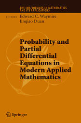 Probability and Partial Differential Equations in Modern Applied Mathematics by Edward C. Waymire