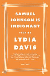 Samuel Johnson Is Indignant by Lydia Davis