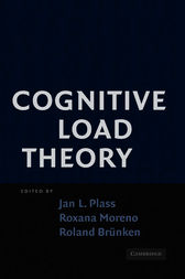 Cognitive Load Theory by Jan L. Plass