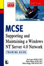 MCSE Training Guide (70-244) Supporting and Maintaining a Windows NT Server 4.0 Network, Adobe Reader by Jim Cooper