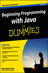 Beginning Programming with Java For Dummies by Barry A. Burd