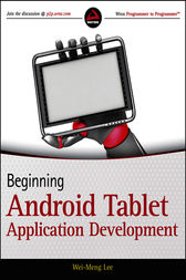 Beginning Android Tablet Application Development by Wei-Meng Lee