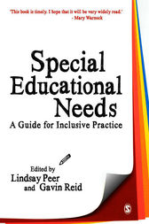 Special Educational Needs by Lindsay Peer
