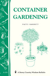 Container Gardening by Patricia R. Barrett