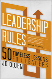 Leadership Rules by Jo Owen