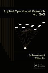 Applied Operational Research with SAS by Ali Emrouznejad