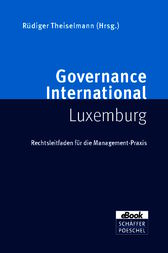 Governance International Luxemburg by Manfred Dietrich