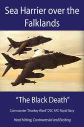 Sea Harrier over the Falklands by Nigel MacCartan-Ward