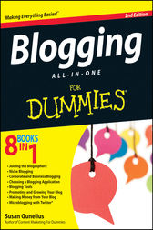 Blogging All-in-One For Dummies by Susan Gunelius