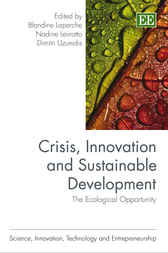Crisis, Innovation and Sustainable Development by Blandine Laperche