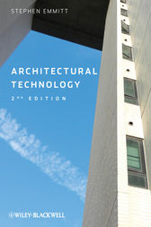 Architectural Technology by Stephen Emmitt
