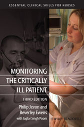 Monitoring the Critically Ill Patient by Philip Jevon