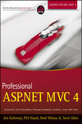 Professional ASP.NET MVC 4 by Jon Galloway