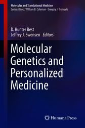 Molecular Genetics and Personalized Medicine by unknown