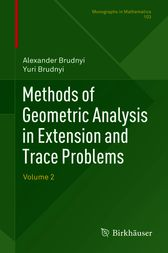 Methods of Geometric Analysis in Extension and Trace Problems by Alexander Brudnyi