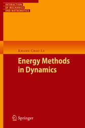 Energy Methods in Dynamics