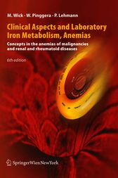 Clinical Aspects and Laboratory — Iron Metabolism, Anemias
