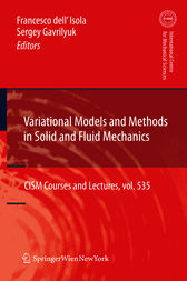 Variational Models and Methods in Solid and Fluid Mechanics by Francesco dell'Isola