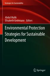 Environmental Protection Strategies for Sustainable Development by Abdul Malik