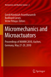 Micromechanics and Microactuators by Gondi Kondaiah Ananthasuresh