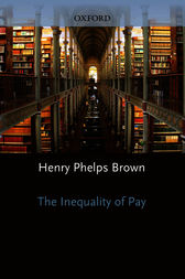 The Inequality of Pay