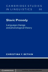 Slavic Prosody