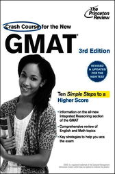 Crash Course for the New GMAT, 3rd Edition by Princeton Review