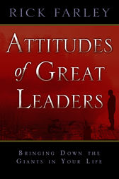 Attitudes of Great Leaders