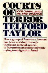 Courts of Terror by Telford Taylor