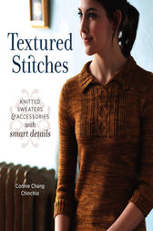 Textured Stitches by Connie Chang Chinchio