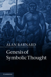 Genesis of Symbolic Thought by Alan Barnard