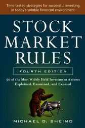 stock market rules michael sheimo pdf