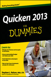 Quicken 2013 For Dummies by Stephen L. Nelson